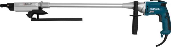 HELFAST 75 Magazinschrauber mit Verlängerung und MAKITA Motor 2500 RPM